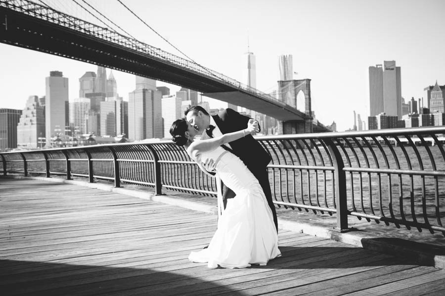 Beautiful wedding at Public Restaurant New York City  Erica Camille