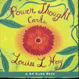 Power Thought cards di Louise Hay sono 64 carte contenenti ognuna una affermazione positiva. Utili per ispirare una gionata positiva!