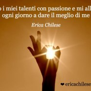 Uso i miei talenti – #affermazionipositive