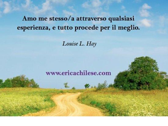 Esperienza e Errori secondo Louise Hay