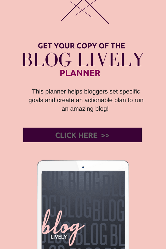 The Bloig Lively Planner