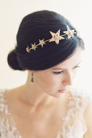 NORTHSTAR BRIDAL STAR HEADBAND