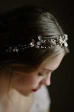 BELL FLOWER WEDDING HEADPIECE