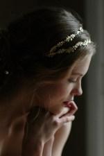 GRECIAN OAK LEAF BRIDAL HEADPIECE