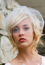 "11"" MINI BIRDCAGE BLUSHER BRIDAL VEIL"