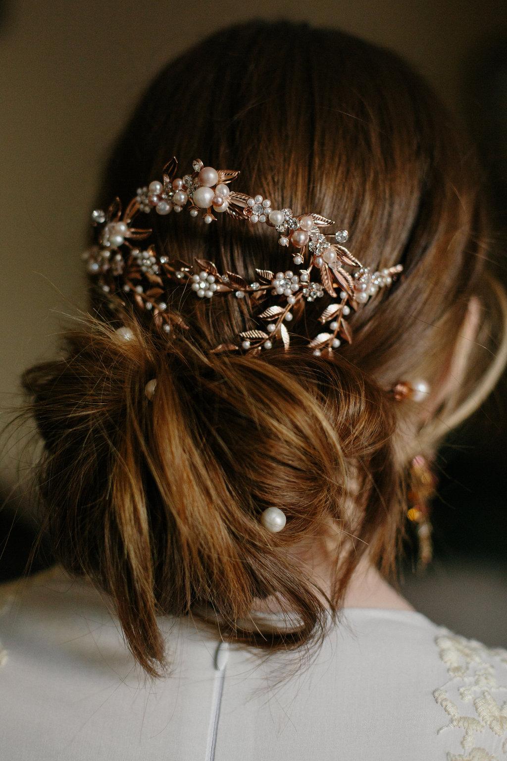 Bridal Hair Accessory Wedding Headpiece Mantilla Comb