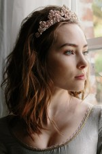 CLEMENTINE CRYSTAL JEWELED BRIDAL TIARA