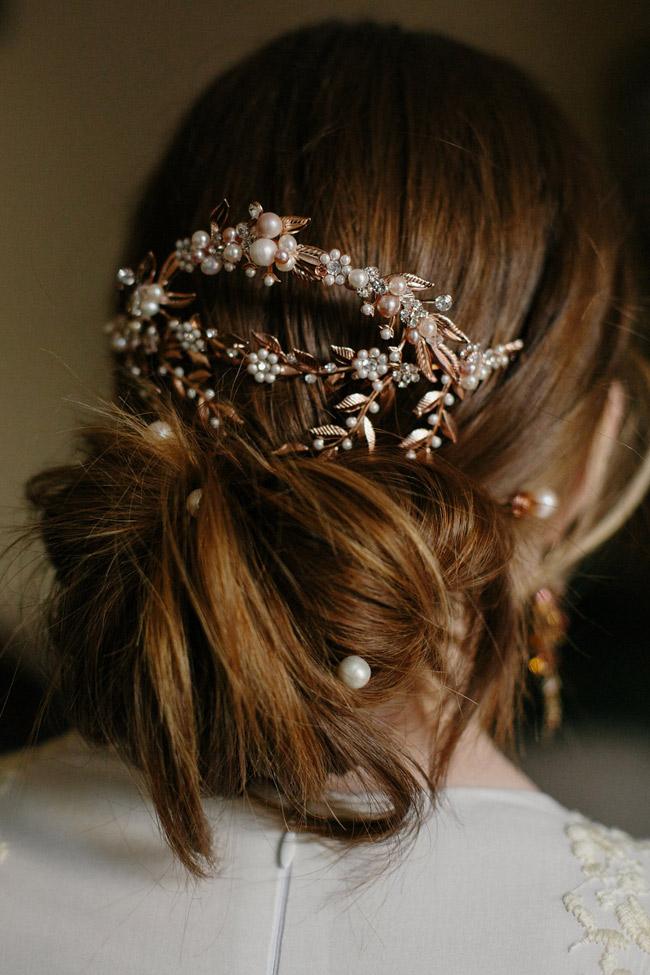 ADELAIDE BACK MANTILLA BRIDAL HAIR COMB