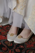 LAVINIA ROMAN COIN BRIDAL SHOE CLIPS