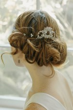 CROSS MY HEART BRIDAL HAIR COMB