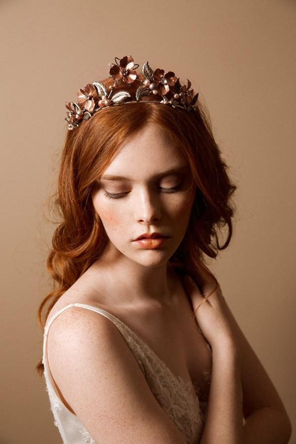 Primrose floral tiara