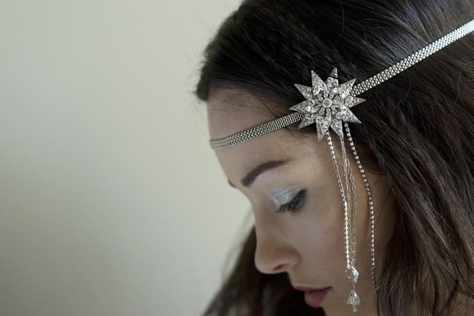 The muse star hair chain