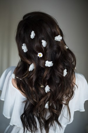 YOU & I SILK FLOWER HAIRPINS NO. 2274