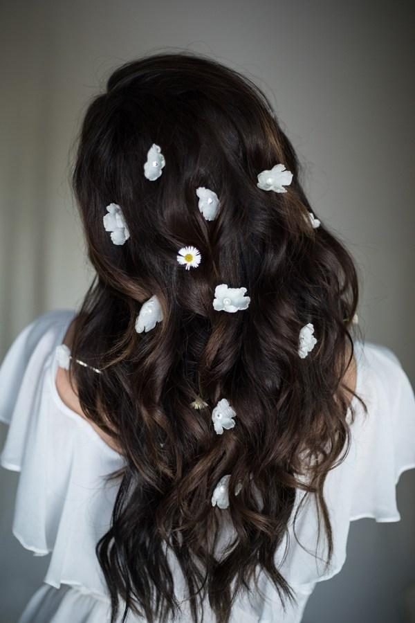 YOU & I SILK FLOWER HAIRPINS NO. 2274