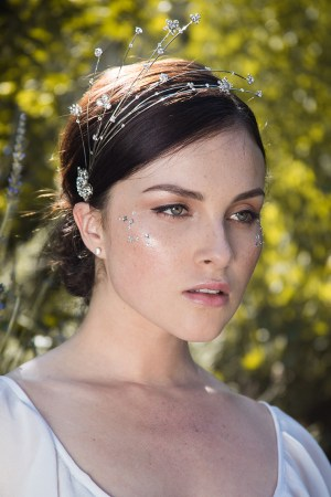 ECLIPSE TWINKLING CELESTIAL BRIDAL HEADPIECE