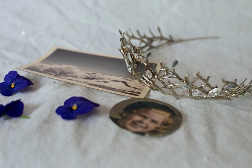 Highland Branch wedding crown