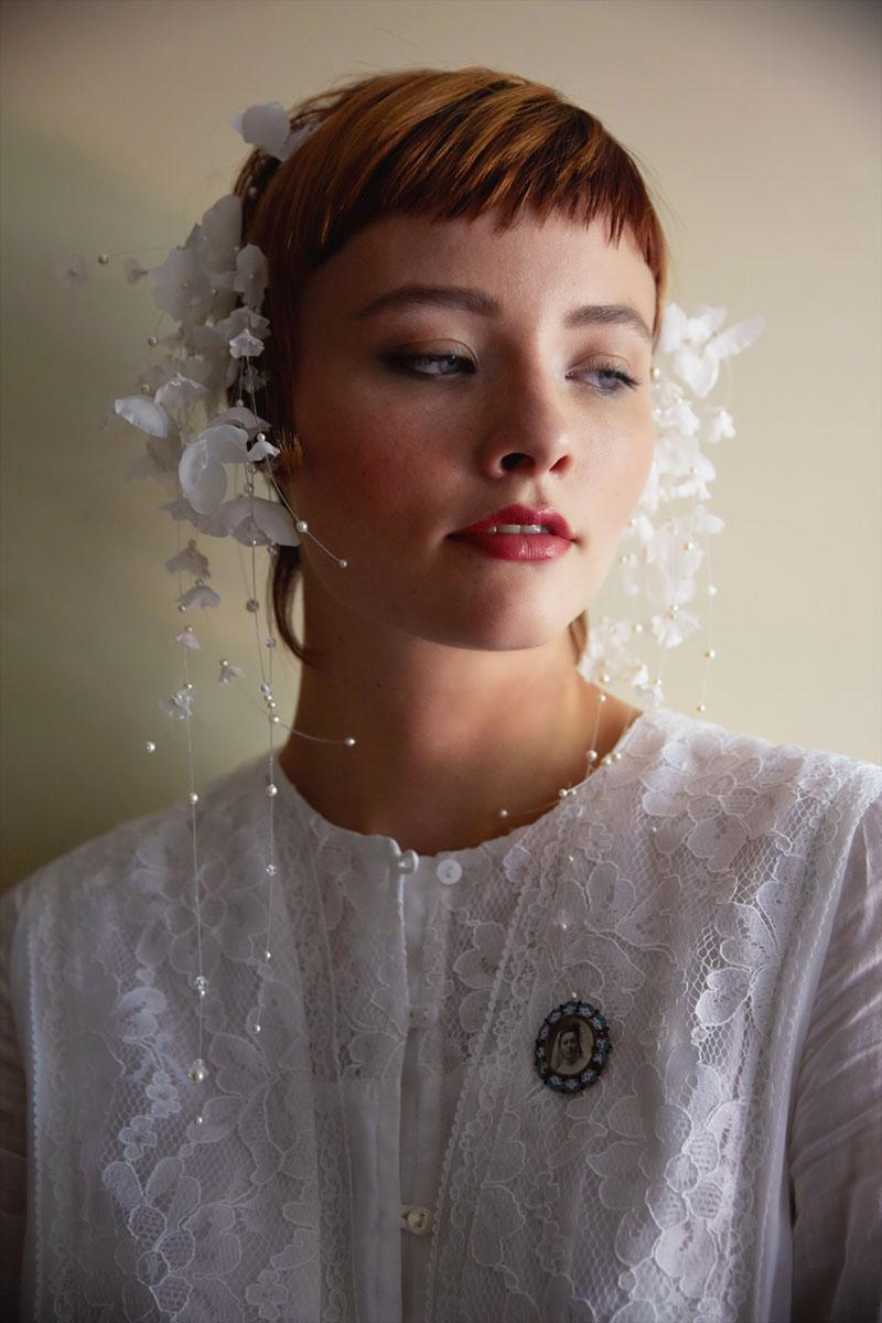 Lily Of The Valley Silk Flowers Flower Crown Silk Headband