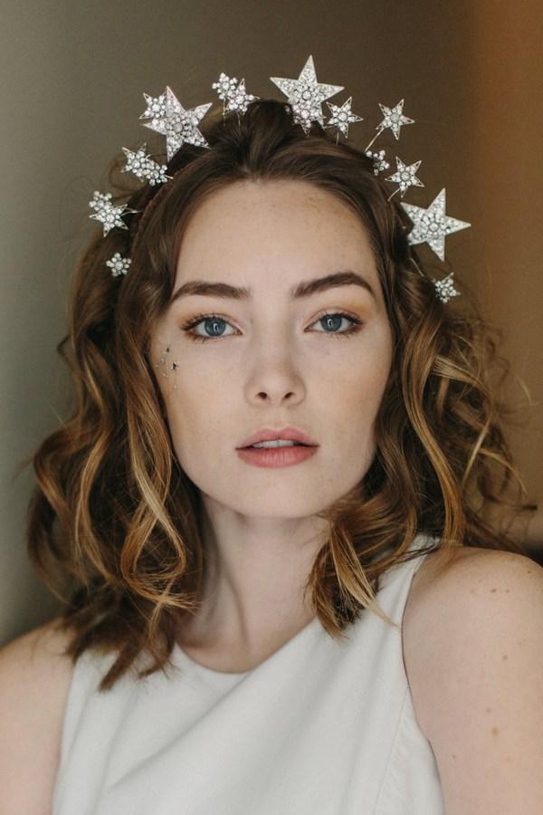 Cosmic Beauty Celestial star crown