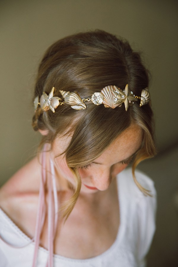 SEA NYMPH SEASHELL HAIR CHAIN