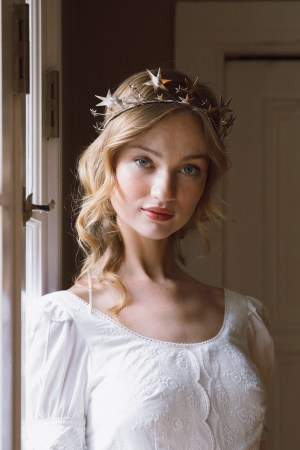 BRIGHT STAR CELESTIAL BRIDAL CIRCLET