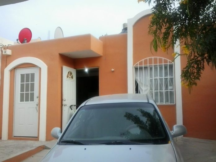 Picture of a house we rented in Cabo San Lucas, which has a low cost of living compared to the U.S.