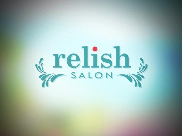 Logo Design   Relish Salon, Hanaliai