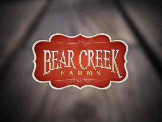 Logo Design   Bear Creek Farms