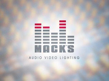 Logo Design   Mack's A/V