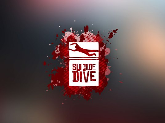 Logo Design   Suicide Dive