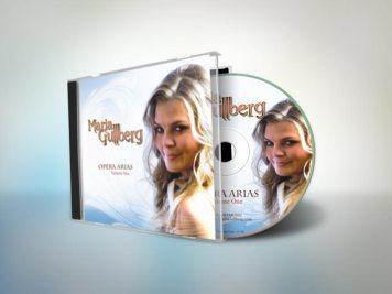 Cover Design | Maria Gullberg - Opera Arias
