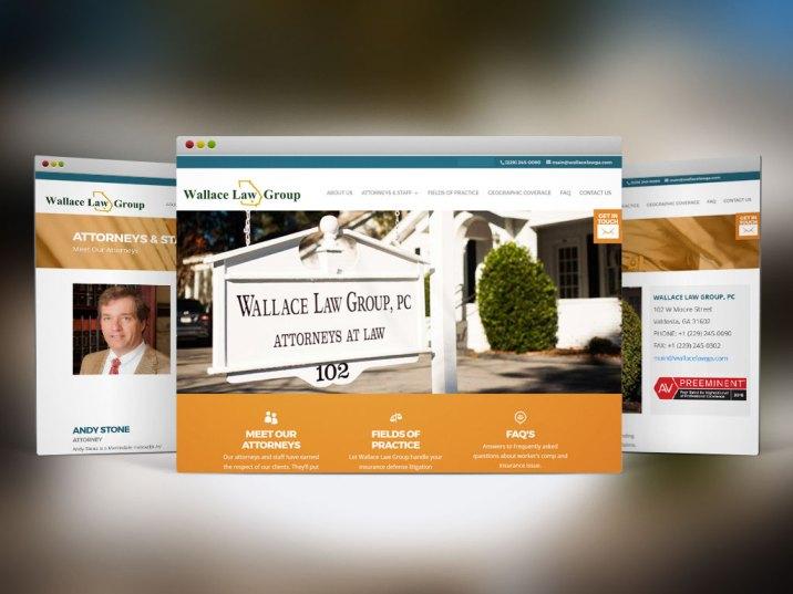 Web Design & Dev | Wallace Law Group, - Valdosta, Ga