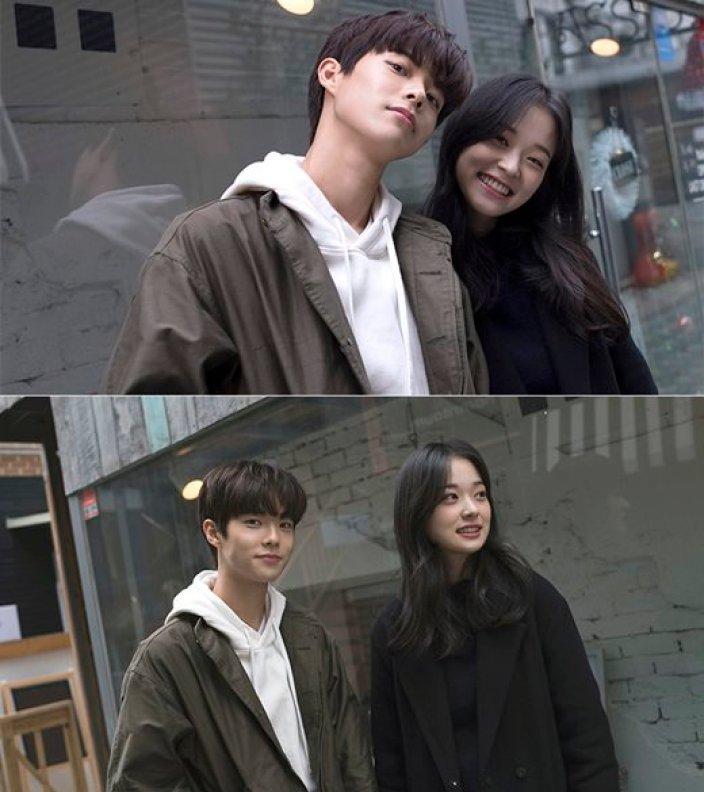 """""""현실 남친美""""…신예 김관수, '시작은 키스' 비하인드컷 공개"""