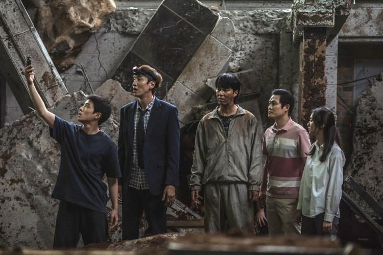 韓國電影《天坑》車勝元、李光洙、金成均、金慧埈