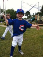 His First T-Ball Game