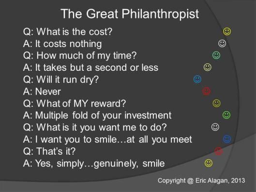 The Great Philanthropist