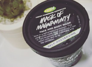 Lush Cosmetics Mask of Magnaminty review