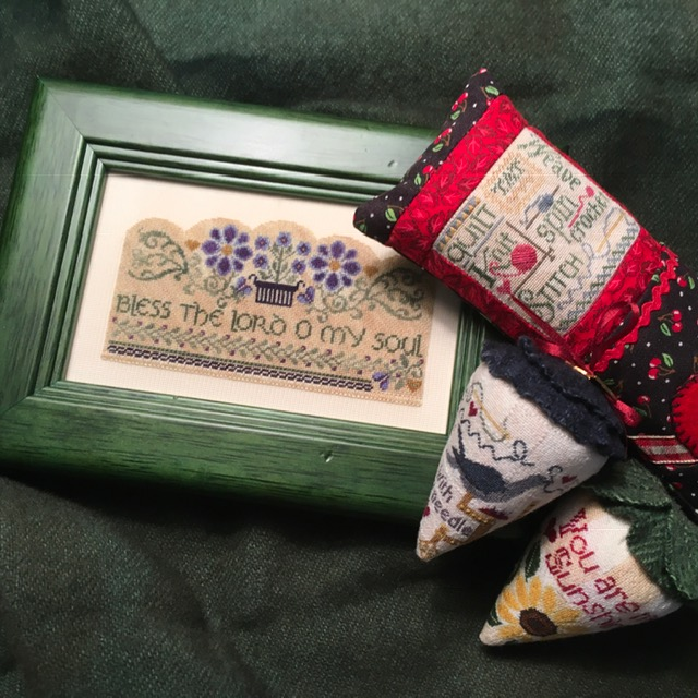Original counted thread designs by Linda Stolz for Erica Michaels Designs | EricaMichaels.com
