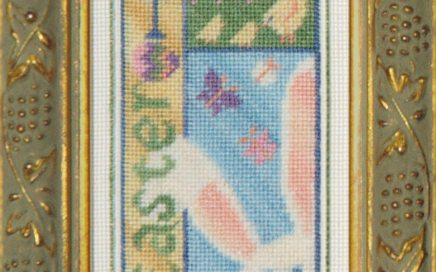 Easter Bits | Original counted thread designs by Linda Stolz for Erica Michaels Designs | EricaMichaels.com