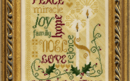 Spirit of Christmas   Original counted thread designs by Linda Stolz for Erica Michaels Designs   EricaMichaels.com