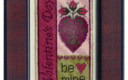 Valentine's Day Bits | Original counted thread designs by Linda Stolz for Erica Michaels Designs | EricaMichaels.com
