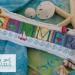 Defining Summer - cushion on linen | Erica Michaels Needleart Designs
