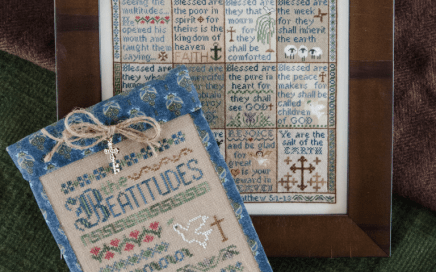 The Beatitudes | Erica Michaels Needleart Designs
