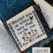 The Beatitudes - verse 11 | Erica Michaels Needleart Designs