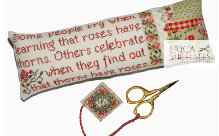 Thorns Have Roses | Erica Michaels Needleart Designs