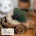 Toothy Jack - top view | Erica Michaels Needleart Designs