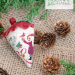 St. Nick's Berry - side view of silk berry | Erica Michaels Needleart Designs