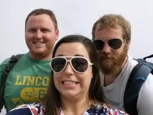 Bethany, Eric, & Mule!