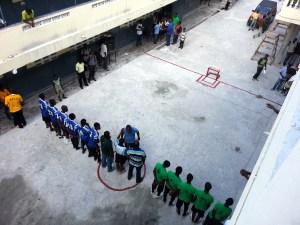 Church League Soccer Match
