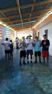 Painting at Pastor Josue's Orphanage