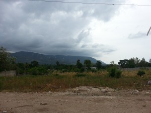 Storm & Mountains in Jacmel